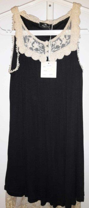 Schwarzes Kleid/Spitze