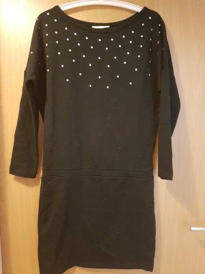 Adidas NEO Vestido negro-color plata