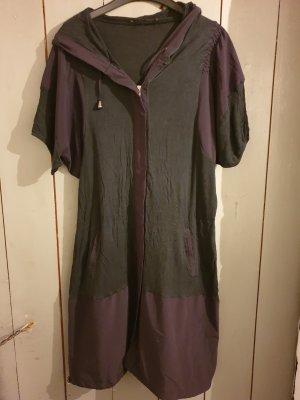 Ancora Hooded Dress black viscose