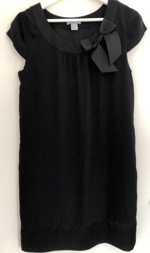 H&M Vestido tipo túnica negro