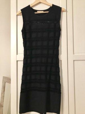 Maje Robe courte noir viscose