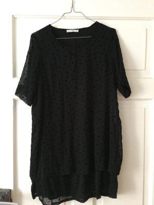 Schwarzes Kleid von Mango mit Sternen