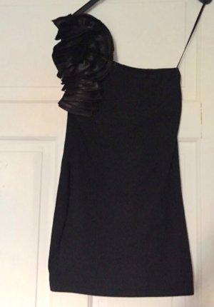 Schwarzes kleines oneshoulder minidress von AX PARIS