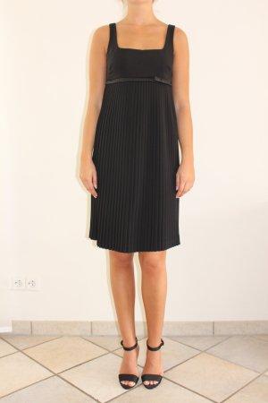 Schwarzes, knielanger Miss Sixty Kleid mit Trägern