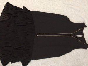 Schwarzes knielanges kookai Kleid 20er Jahre Look