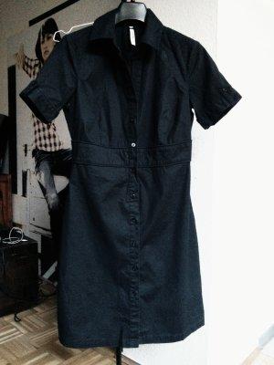 Schwarzes kurzärmliges Kleid von Pepe Jeans