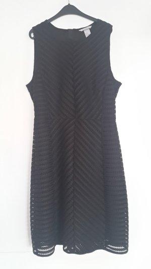Schwarzes, Kurzarmlleid von H&M Größe 38, Neu!