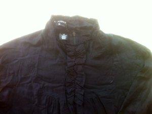 Schwarzes Kurzes Blusekleid von Karl Lagerfeld