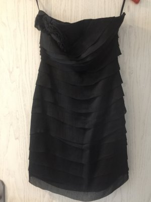 schwarzes kurzes elegantes Kleid Größe 36/38
