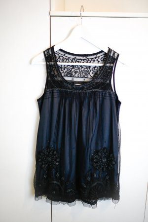 Schwarzes Lace Shirt