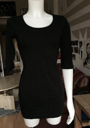 Schwarzes langärmeliges Kleid M