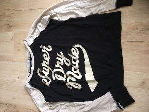 Schwarzes langärmeliges Shirt von SuperDry