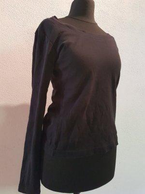 Boothalsshirt zwart