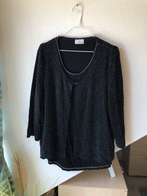 Schwarzes Langarmshirt