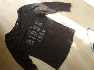 schwarzes Langarmshirt von Only M