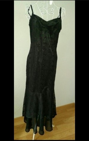 Schwarzes langes Abendkleid 36 von Alba Moda