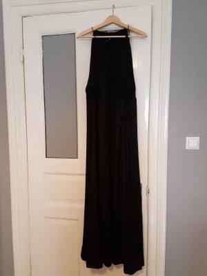 Schwarzes, langes Abendkleid - Toga Stil