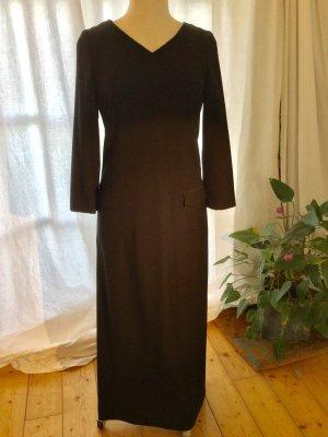 Schwarzes, langes, edles Kleid von Louis Feraud contraire - understatement pur - superfeine Wolle mit Stretchanteil - (Gr. 36 - 38 --> siehe Maße) +++  - Wenn Sie das Gefühl haben, wir könnten uns auf einen Preis einigen ... so senden Sie mir doch Ihre Pr