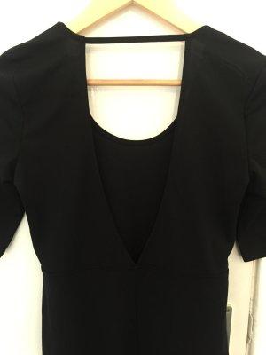 Schwarzes langes Kleid