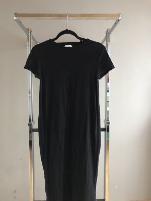 Schwarzes langes Shirt