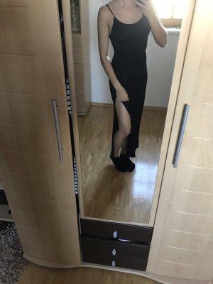 Schwarzes langes Sommerkleid neu
