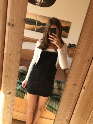 Pull & Bear Denim Dress black