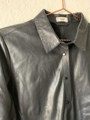 Closed Camisa de cuero negro