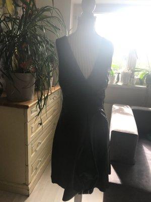 Banana Republic Leather Dress black