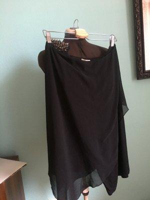 Zara One Shoulder Dress black
