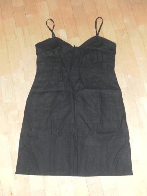 schwarzes Leinen Kleid von H&M