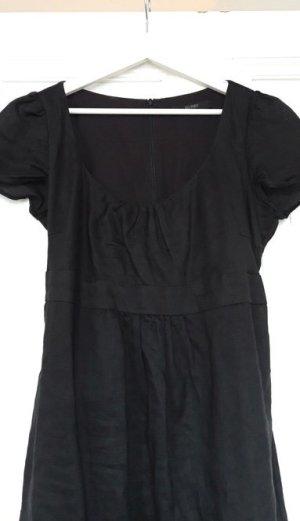 Schwarzes Leinenkleid, 40, Hallhuber
