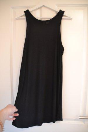 Schwarzes lockeres Kleid