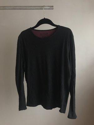 Schwarzes Long Shirt