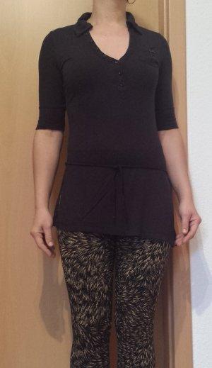 schwarzes Long-Shirt von edc