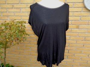 Schwarzes Longshirt von Zara