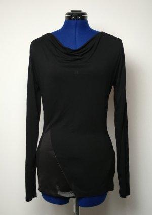Schwarzes Longshirt Yaya Gr. M