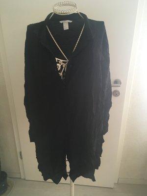 Schwarzes Luftiges Hemd