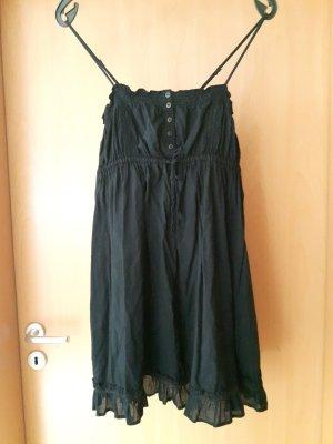 Schwarzes luftiges Sommerkleid