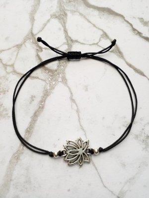Bijoux de bras noir-argenté