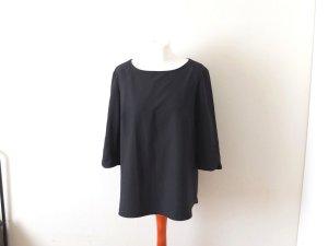 schwarzes Mango Shirt Gr. L 38 40 Oberteil Bluse basic