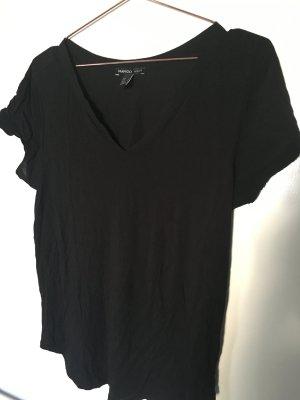 Schwarzes Mango-Tshirt