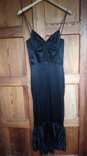 Schwarzes Meerjungfrauen-Kleid von just Cavalli aus Seide, kleines Schwazes