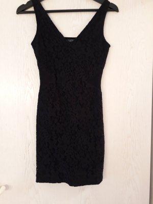 Schwarzes Mini Cut-Out Kleid Topshop Größe 36