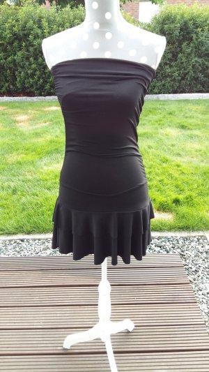 Schwarzes Mini-Kleid