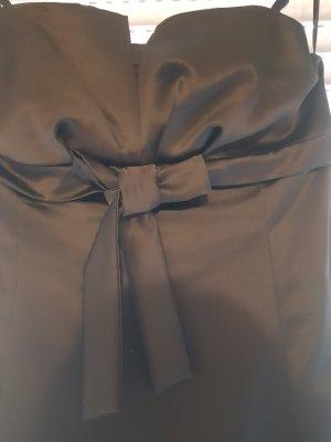 Schwarzes Mini Kleid mit Bolero Jacke