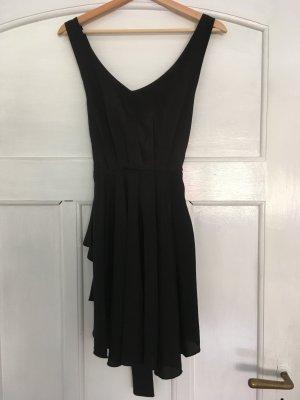 Schwarzes Mini Kleid von Romwe