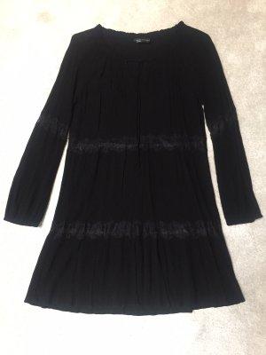 Schwarzes Mini-Kleid von Zara,Gr.S