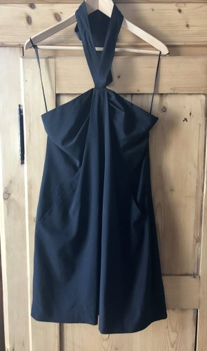 Theory Halter Dress black
