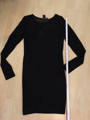 Schwarzes Minikleid elegant