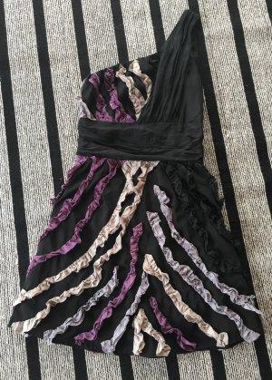 Schwarzes Minikleid Gr. 34